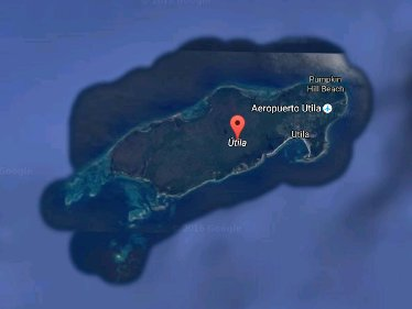 The Island of Utila, Honduras
