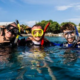 Happy Divers at Underwater Vision